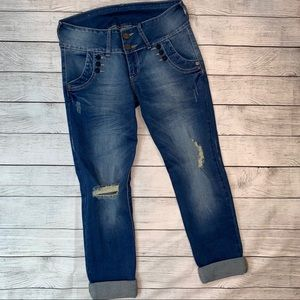 LOLA (Columbia) Cropped Cuffed Jeans Size 29x23
